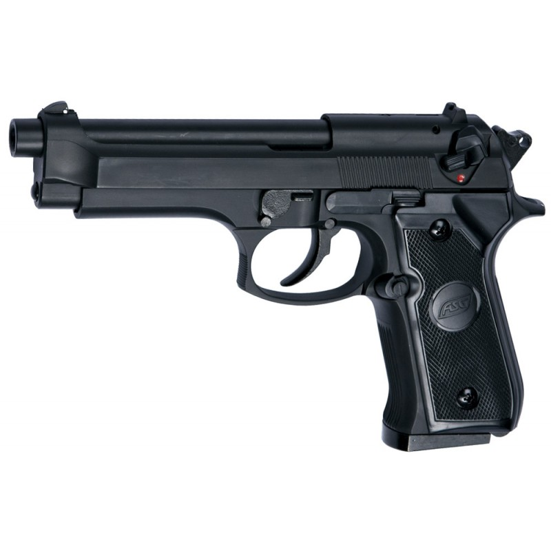 M92 NOIR GAZ ASG HEAVY WEIGHT LOURD 0.6 JOULE
