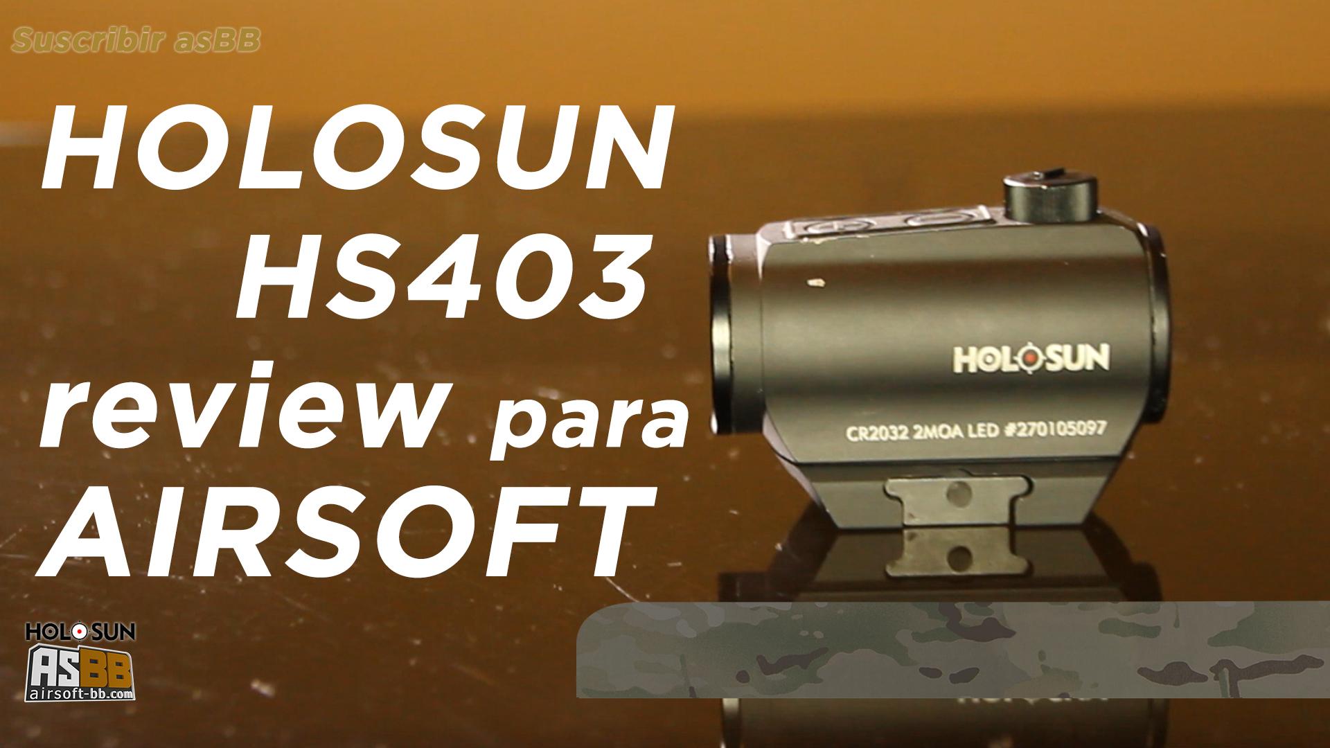 Mira Holosun HS403, une microdot réelle