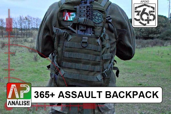 Review: 365+ Sac à dos d'assaut