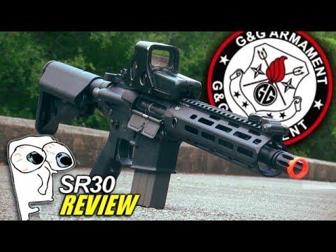 Cette chose est géniale! – Revue du Airsoft SR30 de G & G Knights Armament