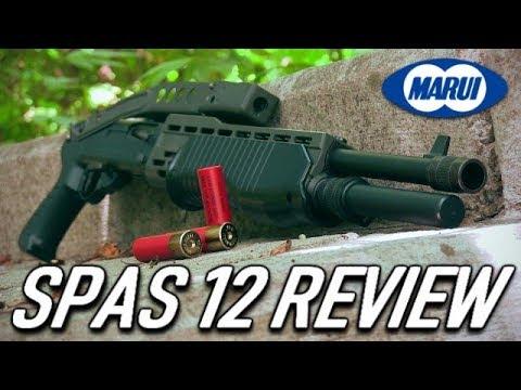 Le fusil de chasse en plastique à air comprimé de 700 $ – Tokyo Marui SPAS 12