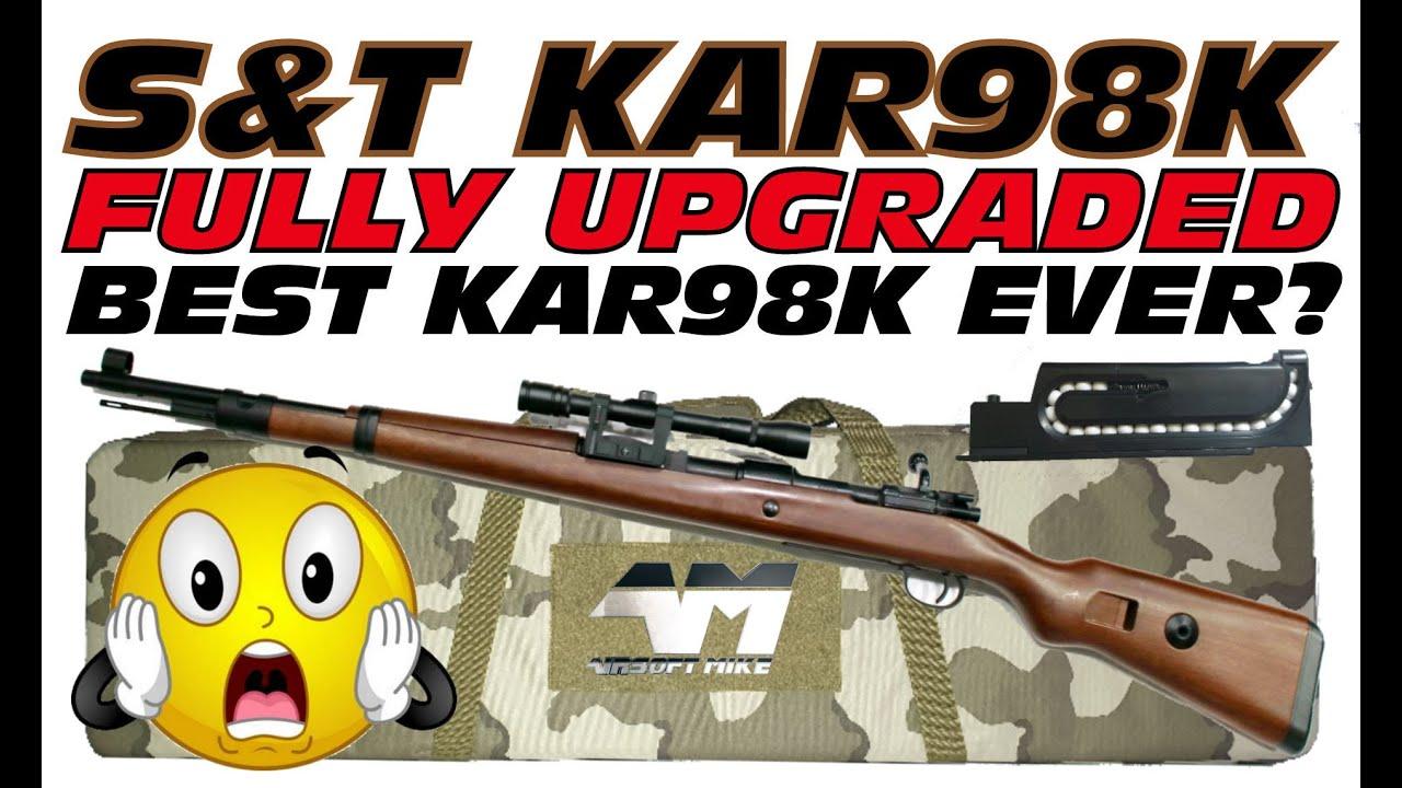 S & T KAR98K VERSION PRO TOTALEMENT AMÉLIORÉE / KAR 98K / Test de la boxe Airsoft