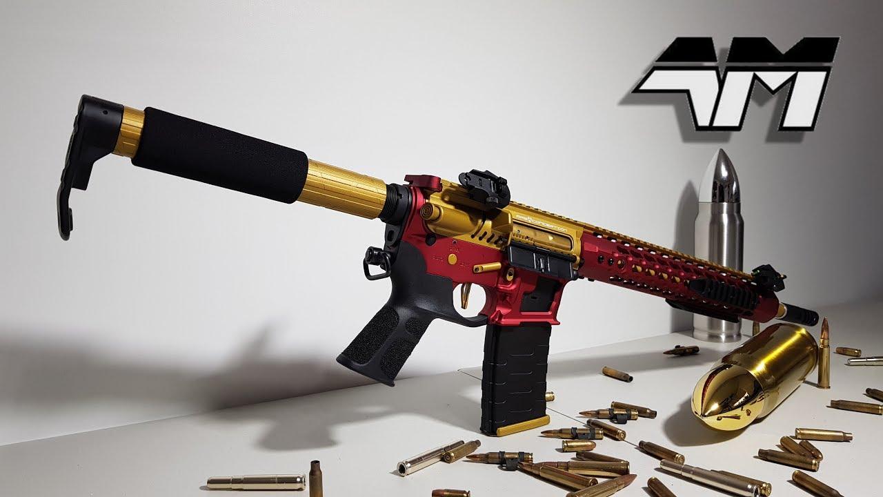 APS ASR 121 GOLD DRAGON / Unboxing / Review / Squelette AR-15