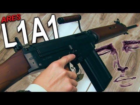 Un des pistolets Airsoft les plus sexy jamais fabriqués Ares L1A1 SLR Review