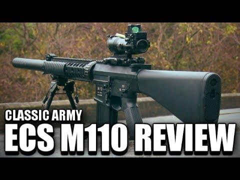 Armée classique ECS M110 Airsoft Marksman Rifle Review
