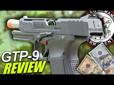 Est-ce un bon pistolet Airsoft à 110 $? – Révision du G & G GTP-9