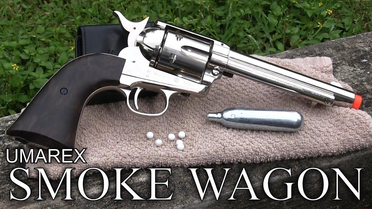 Revue Airsoft du revolver Umarex Smoke Wagon – Elite Force / Legends