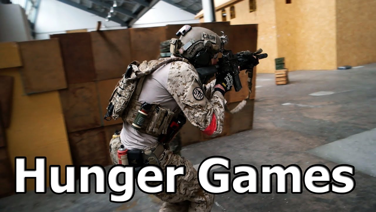 Airsoft Hunger Games, équipe Deathmatch CQB GsPAirsoft Anglais / Allemand