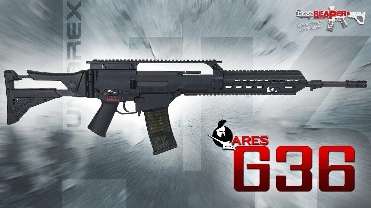 [Review] Ares / Umarex HK G36 (EFCS 2019) Heckler & Koch 6mm Airsoft / Softair (allemand / DE)