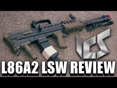 ICS L86A2 LSW – Révision de l'arme d'assistance Airsoft