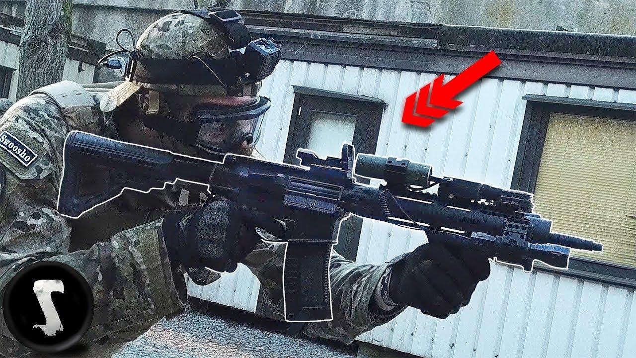 Un vrai officier SWAT rejoint le jeu Airsoft et détruit tout le monde !!