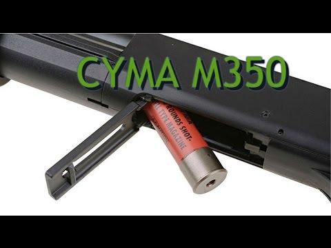 REVUE AIRSOFT EN ESPAGNOL // CYMA M350