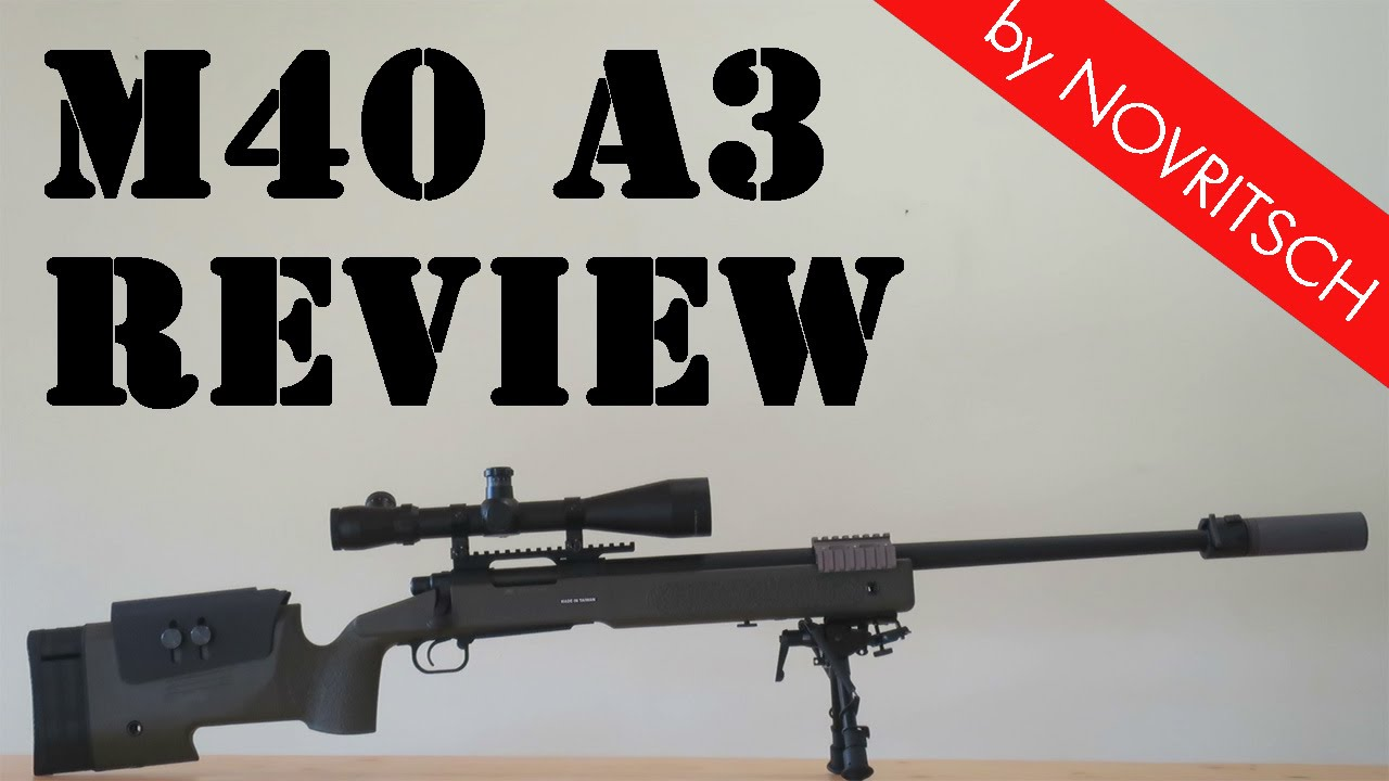M40A5 Airsoft Sniper Review – Partie 1