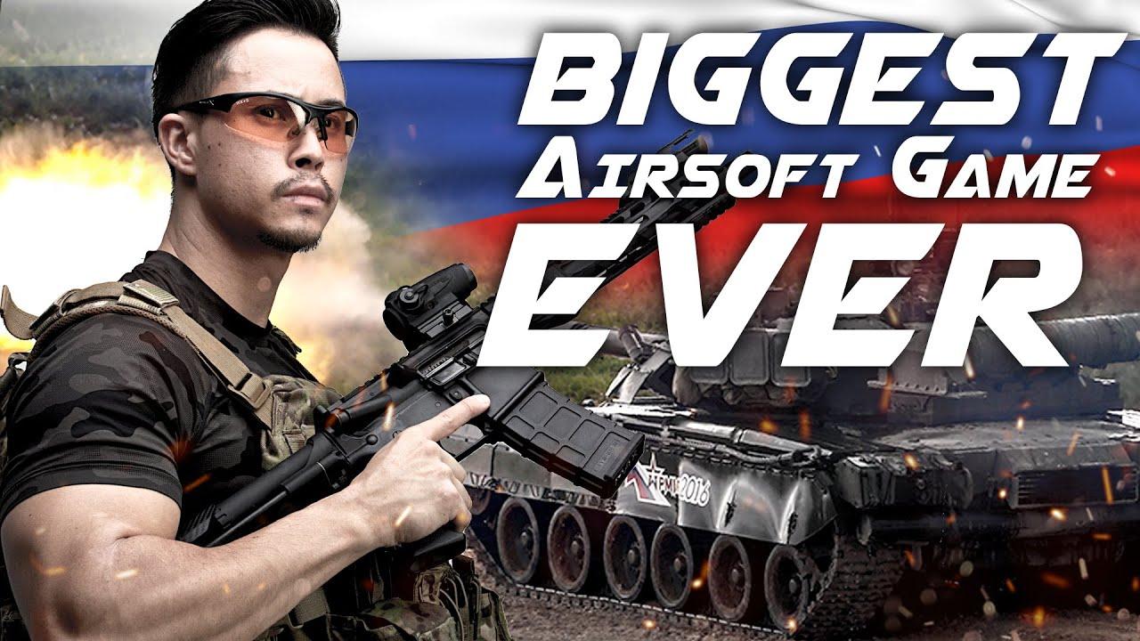 Le plus grand jeu d'airsoft de tous les temps – La guerre blindée VIII en Russie – RedWolf Airsoft RWTV