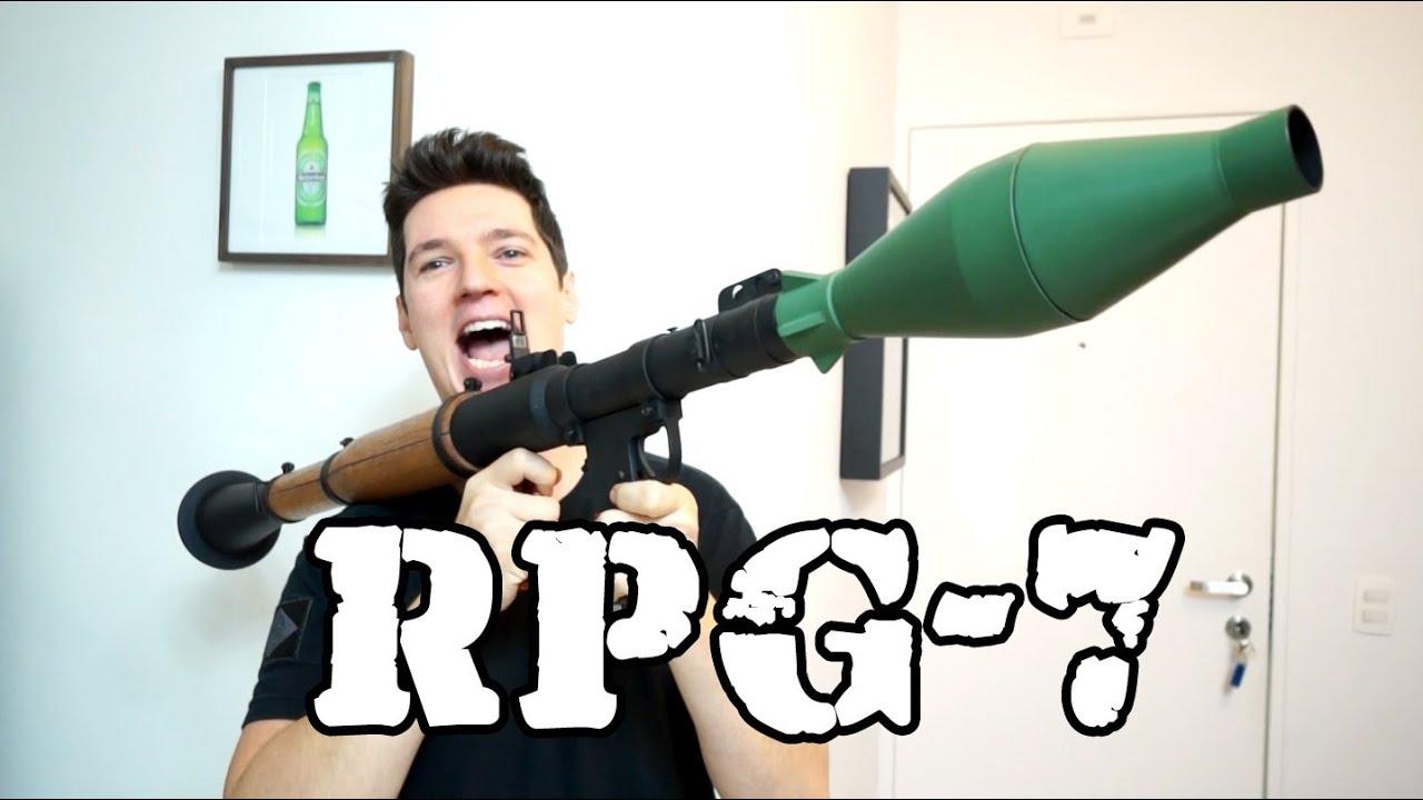 Examen RPG-7 Airsoft – Luiz Rider – BRESIL!