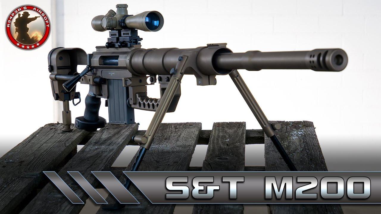 [Review] S & T CheyTac M200 Intervention – Tireur d'élite Airsoft 6mm Allemand / Allemand – 4K UHD