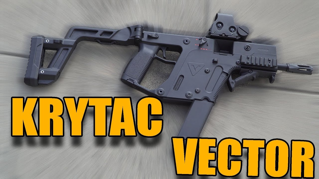 KRYTAC KRISS VECTOR Airsoft Review 0.5J Machine GsP
