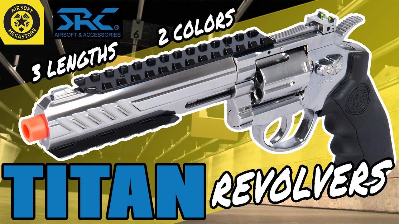 SIX-GUN FEVER | Série SRC TITAN Revolver | Revue complète Airsoft Megastore