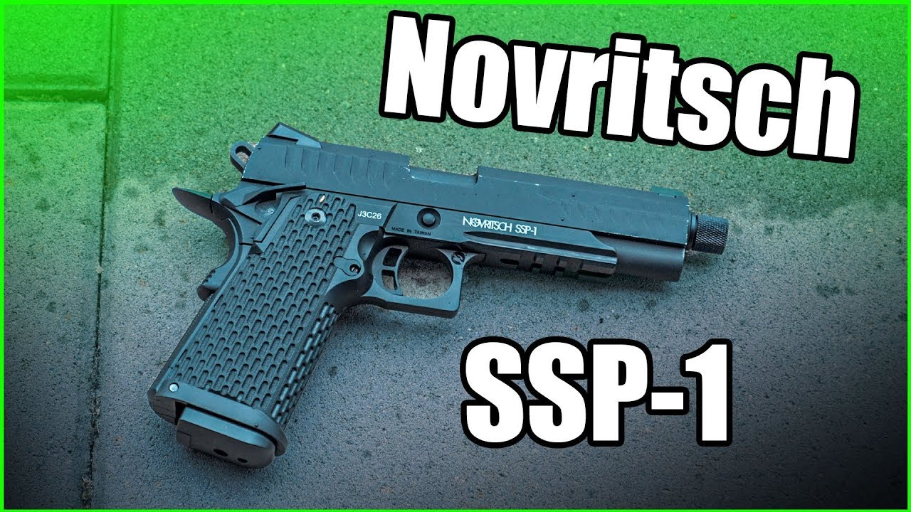Novritsch SSP1 Airsoft Review GsP Airsoft allemand