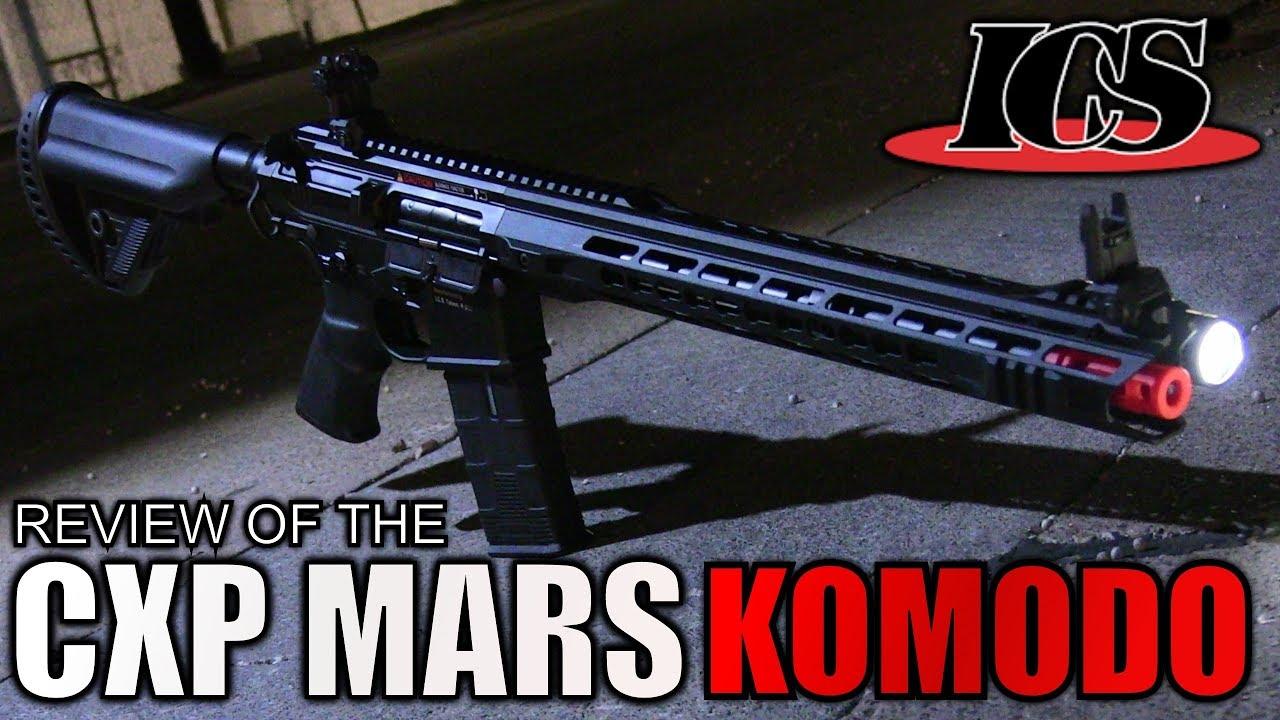 ICS CXP MARS Revue de Komodo Airsoft – Un M4 absolument incroyable