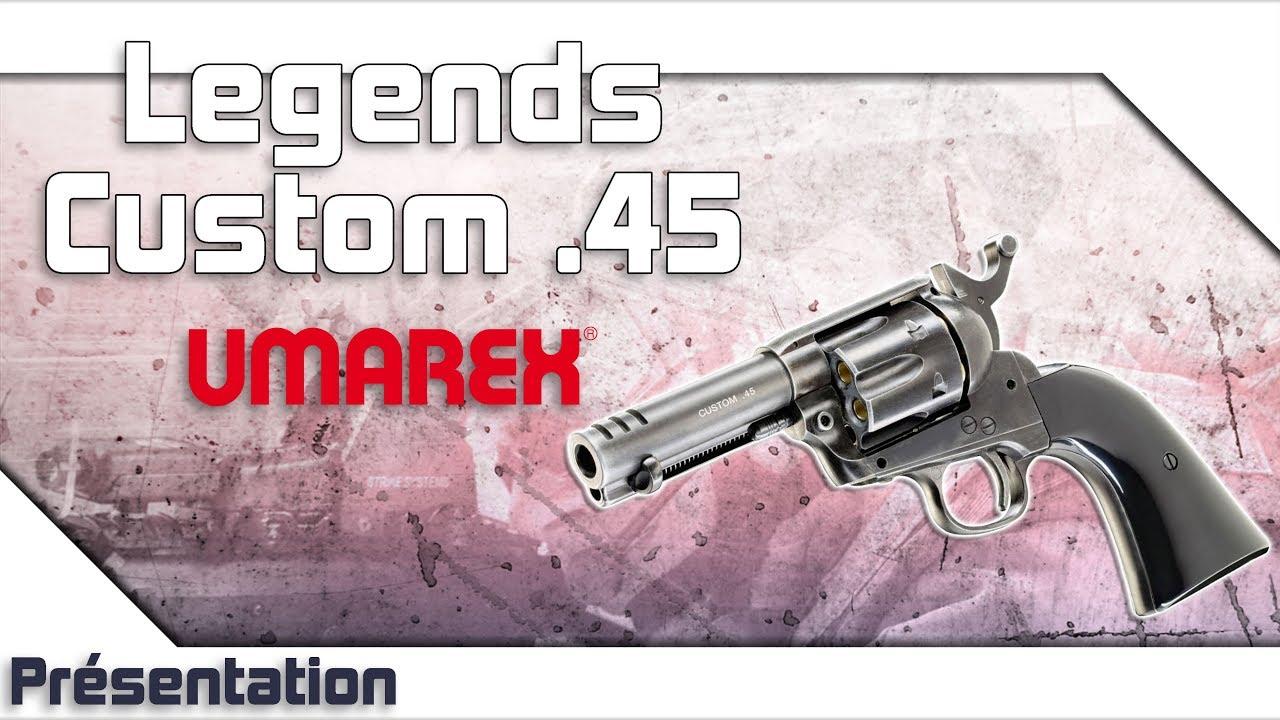 [Legends Custom .45 – Umarex] Présentation | Review | Airsoft FR – EN subs