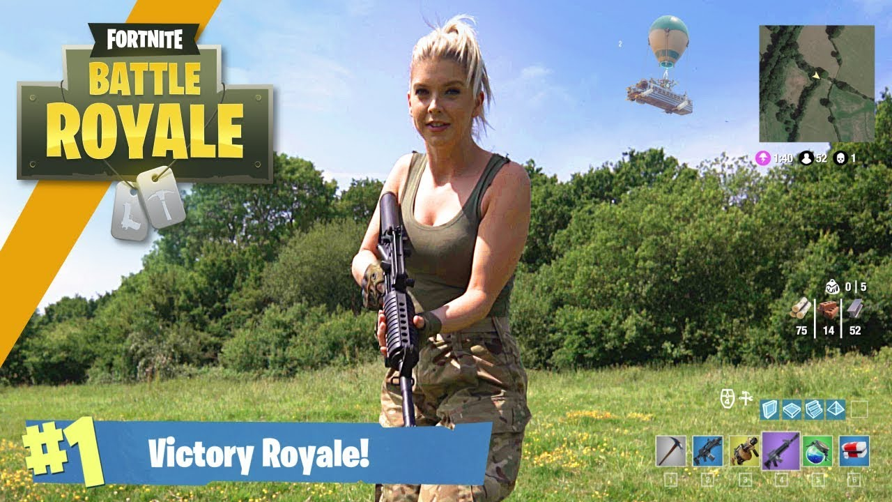 Airsoft War: Fortnite Battle Royale dans la vraie vie! | TrueMOBSTER