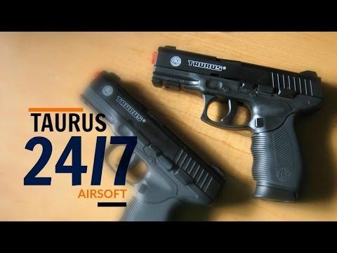 Pistolet Taurus EN 24/7 – AIRSOFT (Déballage, révision et démontage)
