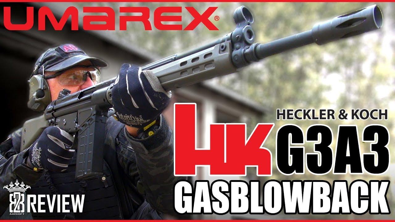 Critique du VFC Umarex HK G3 GBB Airsoft, du H & K G3A3 allemand