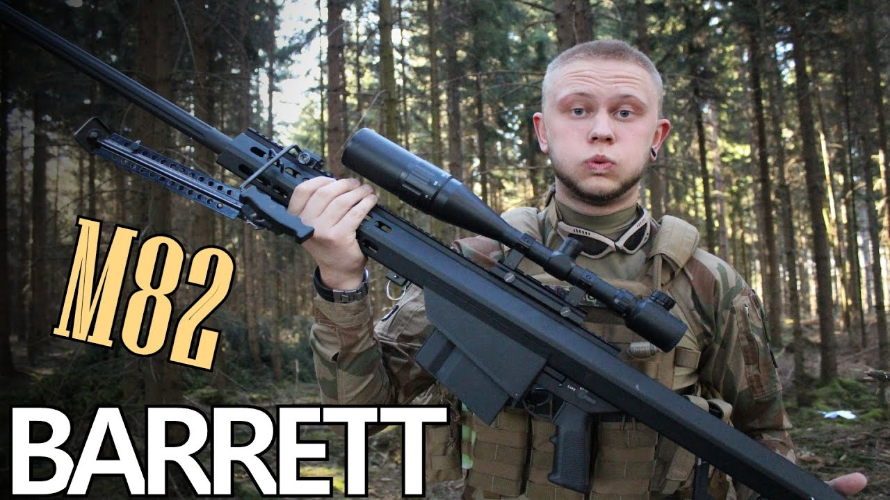 Snow Wolf M82A1 – Sniper Airsoft REVIEW GsP Airsoft