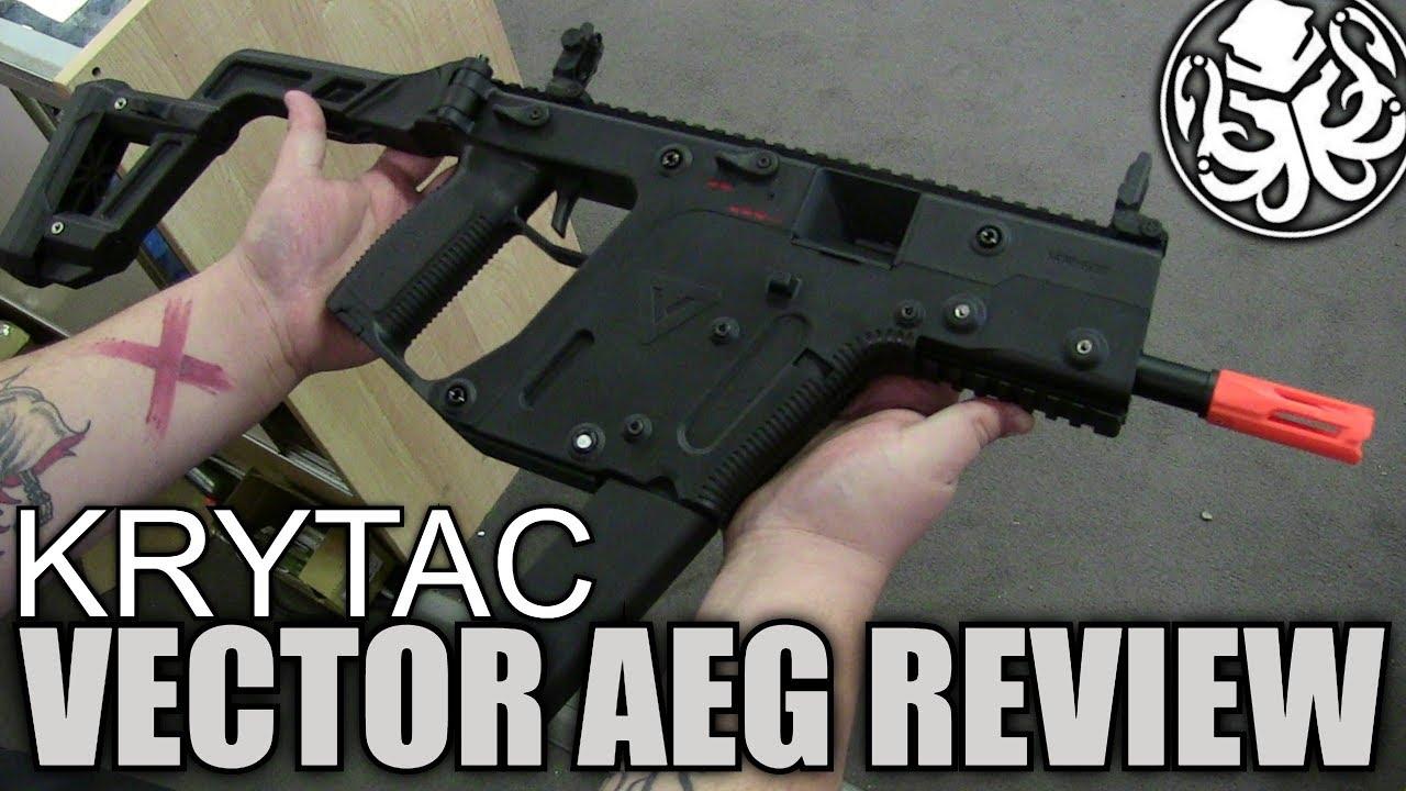 Krytac Kriss Vector Test AEG Airsoft – Est-il meilleur que votre Krytac?