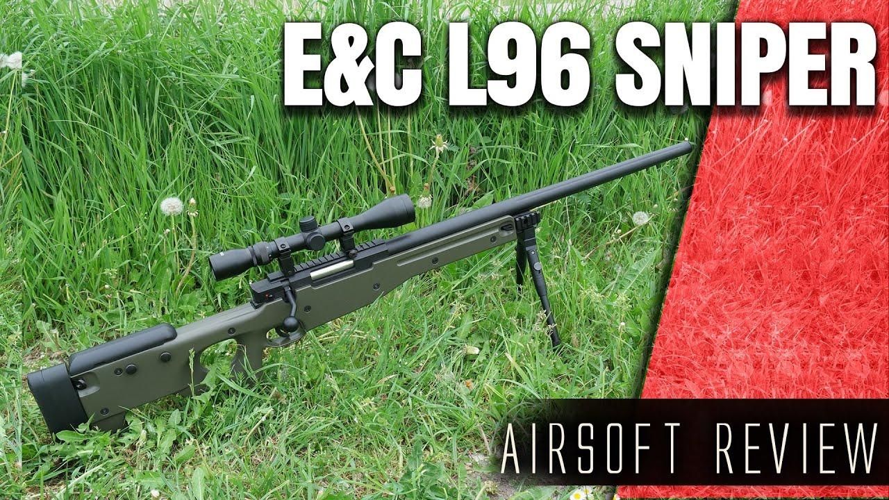 Airsoft Sniper pour les débutants? E & C L96 Sniper Review