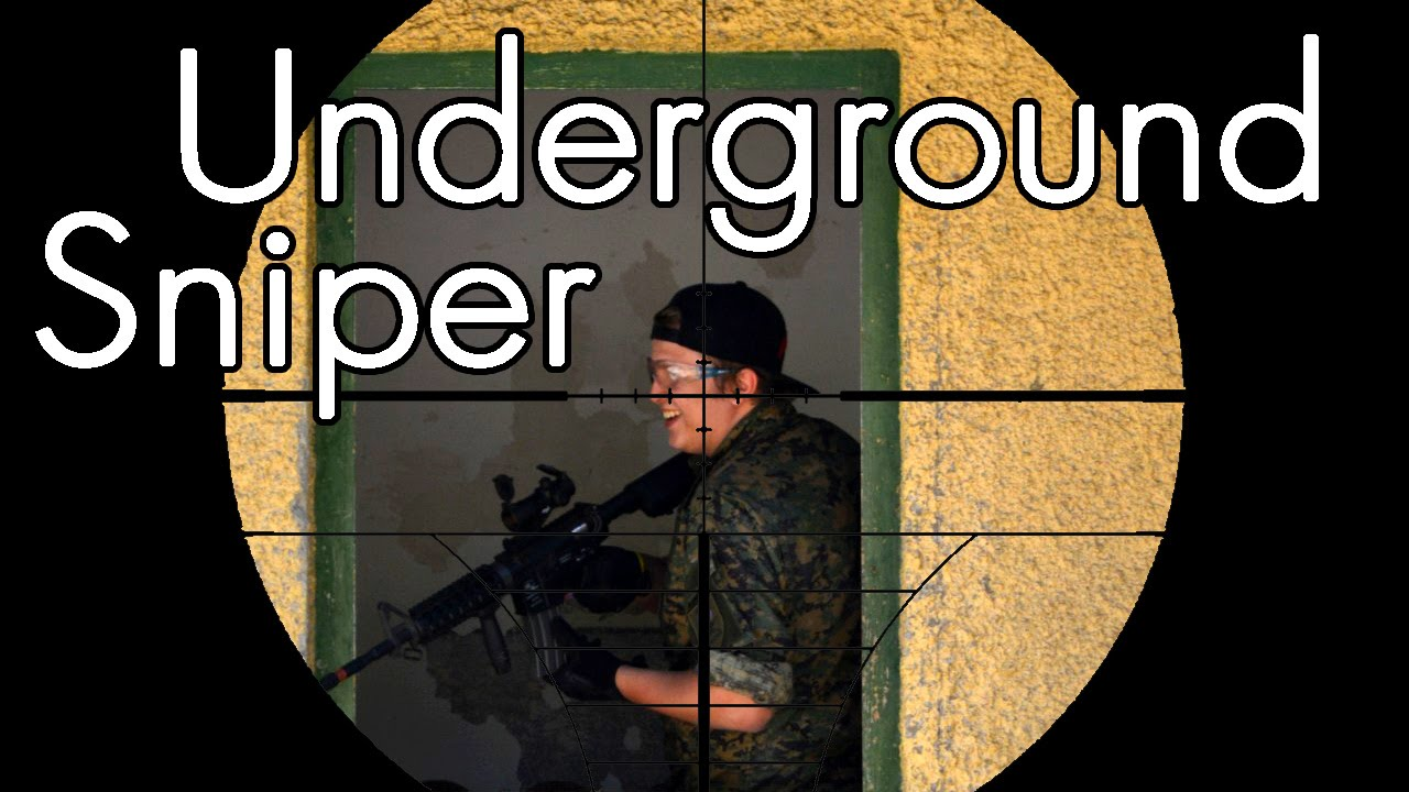 Airsoft Sniper Gameplay – Scope Cam – Souterrain Sniper