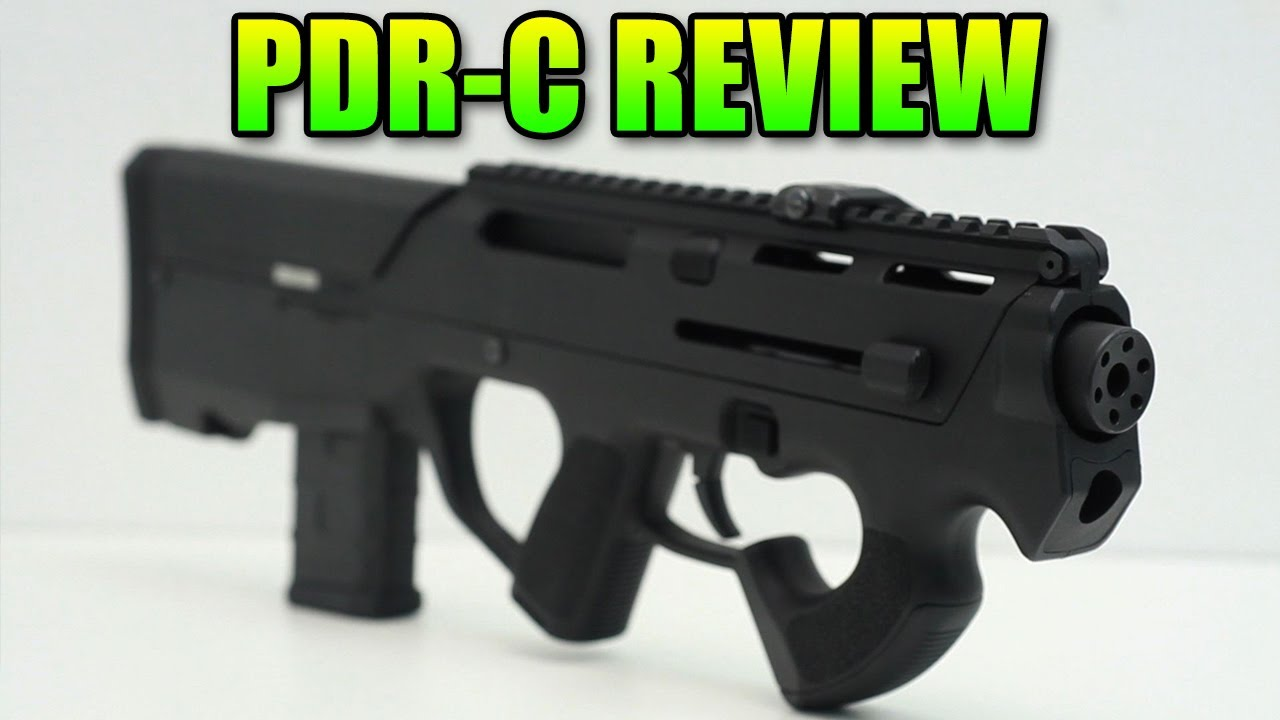 Airsoft Magpul PTS Revue PDR-C & Gameplay (PDW-R)