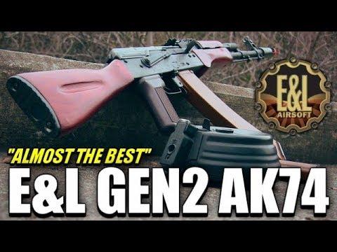 """""""Presque"""" Le meilleur airsoft AK que j'ai jamais vu – E & L Gen 2 AK74"""