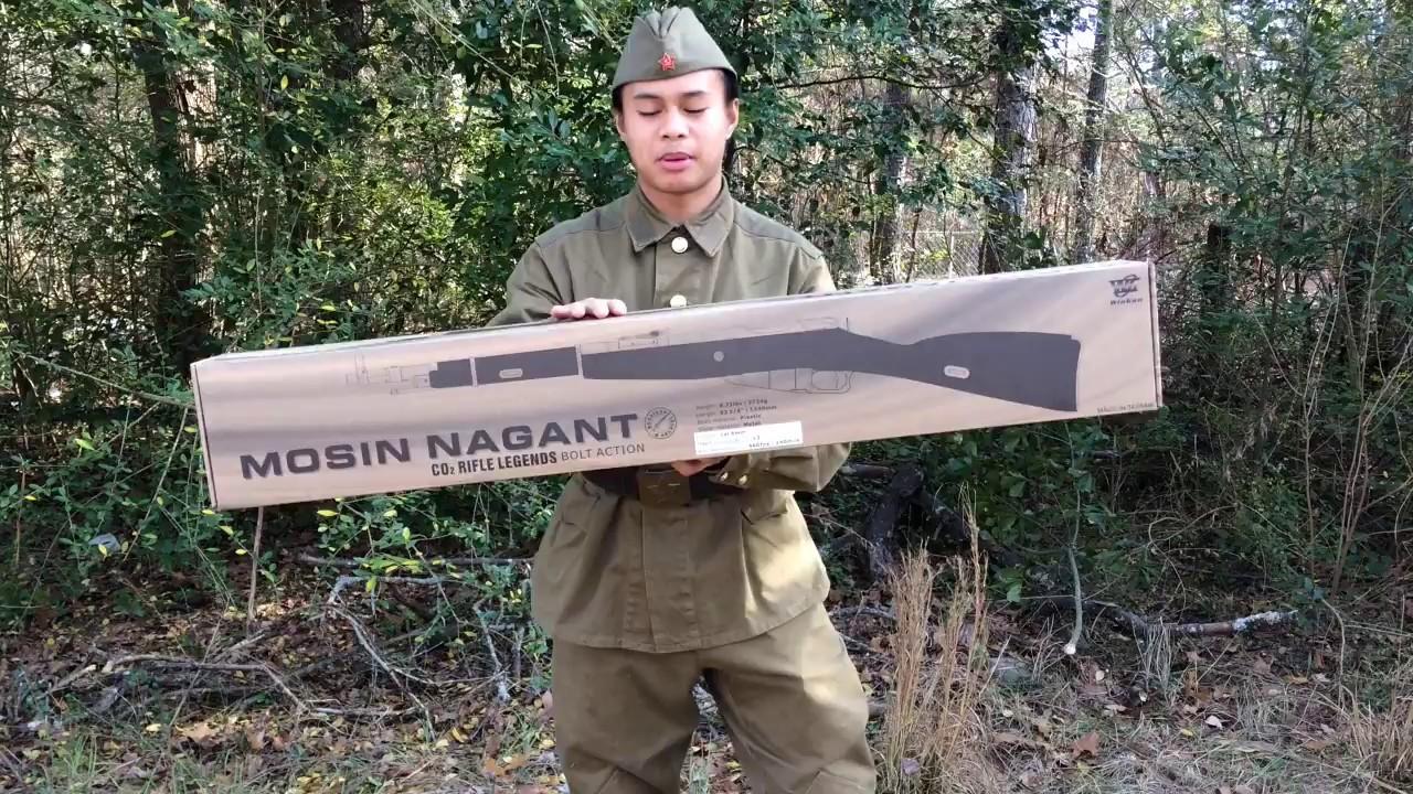 WinGun Airsoft Mosin Nagant Test