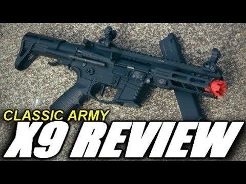 Classic Army Nemesis X9 Airsoft Review – Ils ont clairement copié …