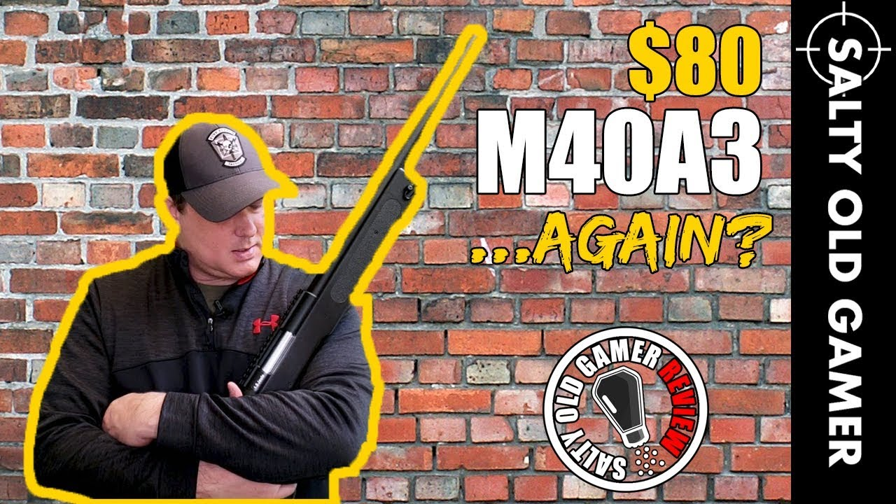 M40A3 Sportline Review Revisited … Encore une fois! | SaltyOldGamer Airsoft Review