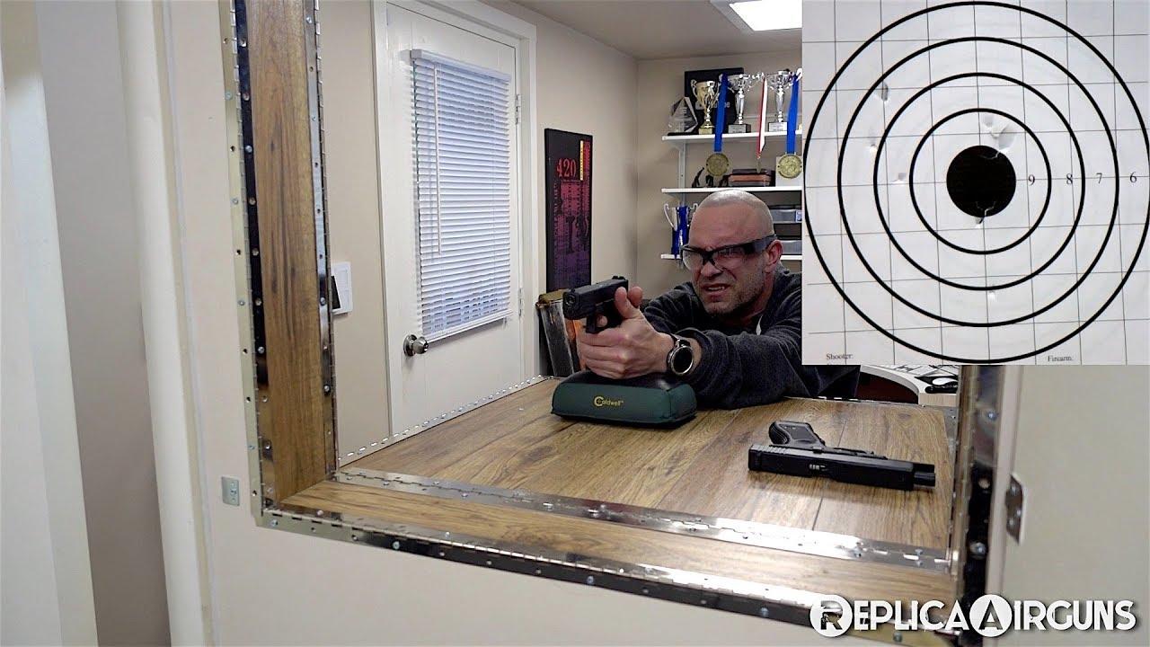 Essai sur le terrain du pistolet Airsoft GBB Umarex Glock 17 4e génération