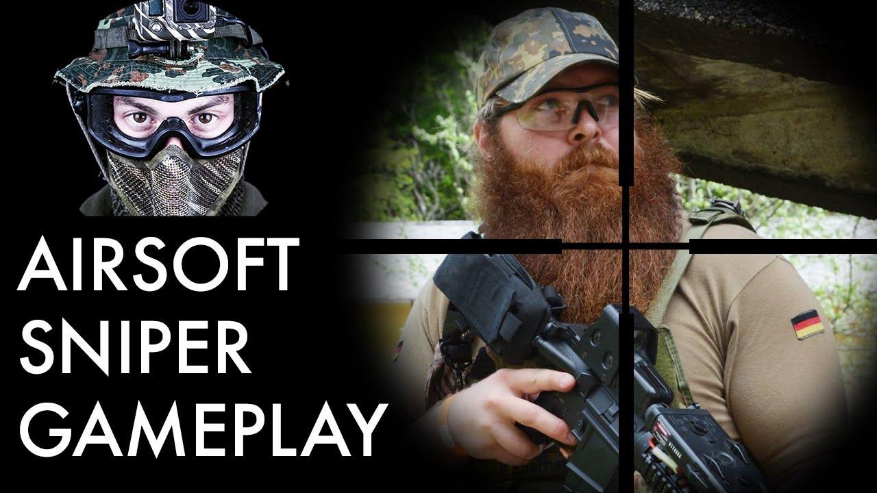 Airsoft Sniper Gameplay – Scopecam – Novritsch SSG24