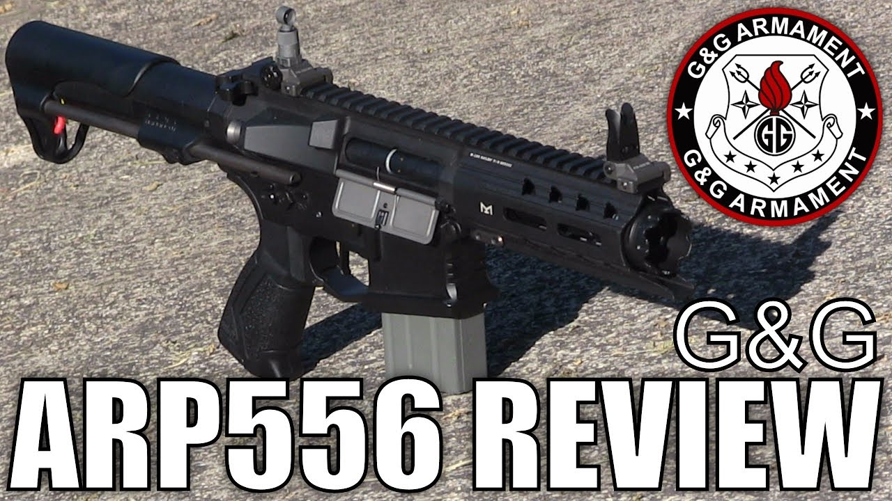 Le G & G ARP556 Airsoft Review – J'adore ce fusil