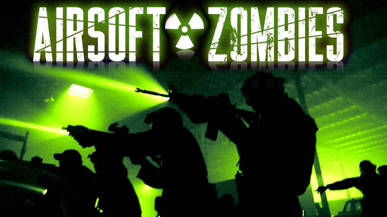 Zombie Airsoft Game – Dépassement de Safe House! – Gameplay Airsoft GI