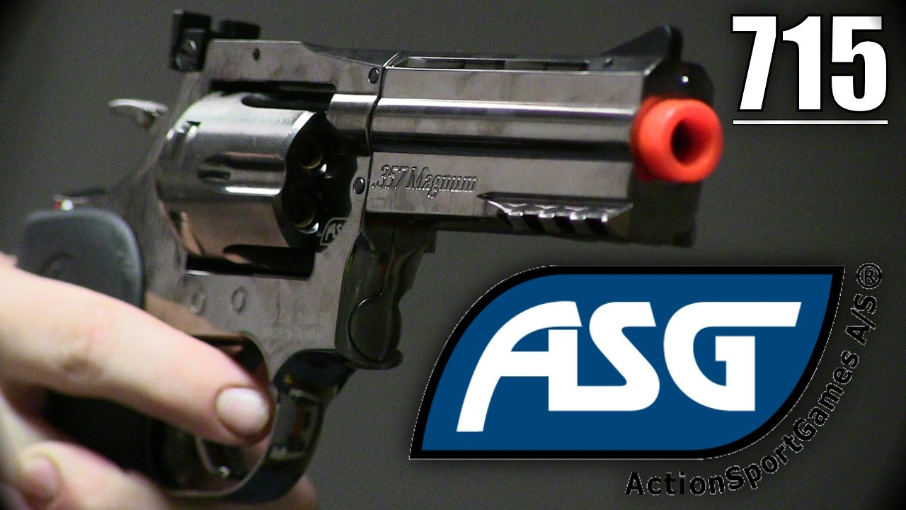 Revue de Revolver ASG 715 4 pouces ASG – Merci Station Airsoft!
