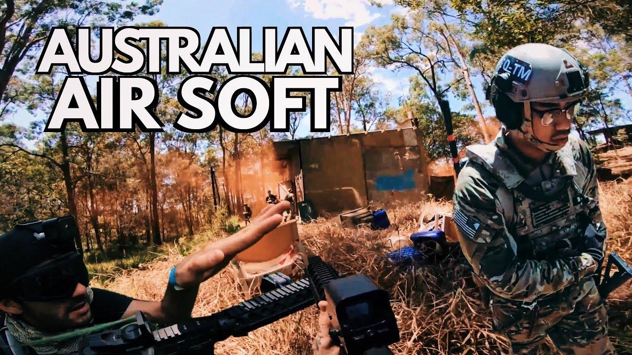 LA VERSION D'AIRSOFT EN AUSTRALIE
