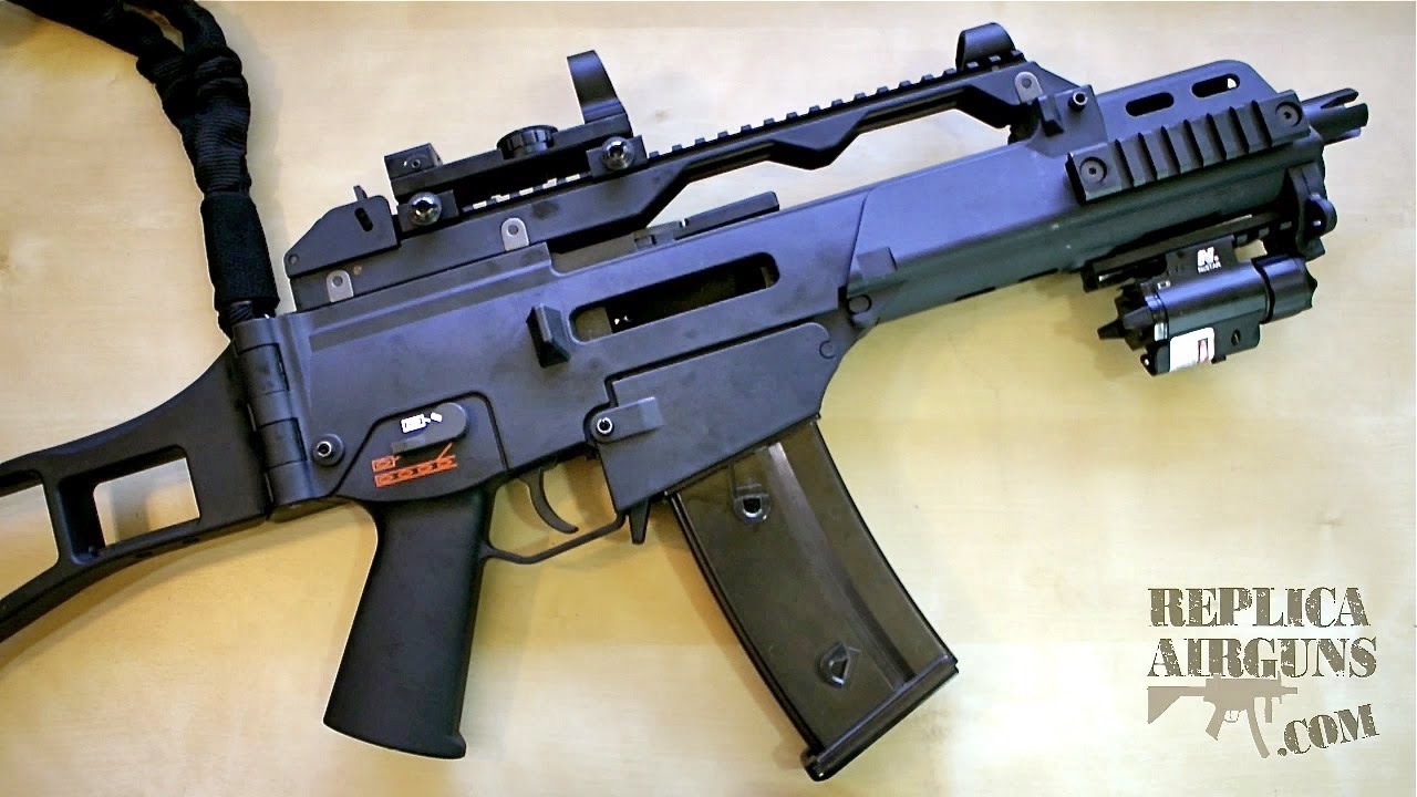 WE G39C GBB Airsoft Assault Rifle Revue complète