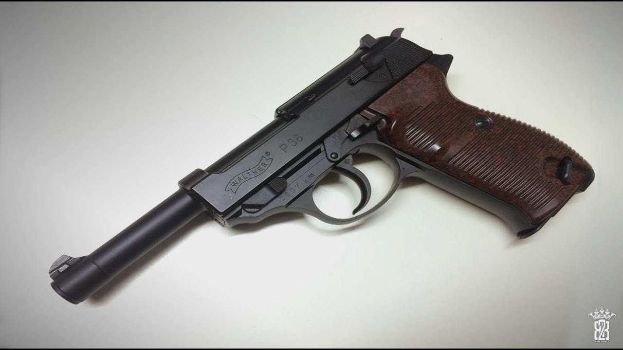* Revue Airsoft * Version Maruzen Walther P38 6mm BB | Allemand allemand