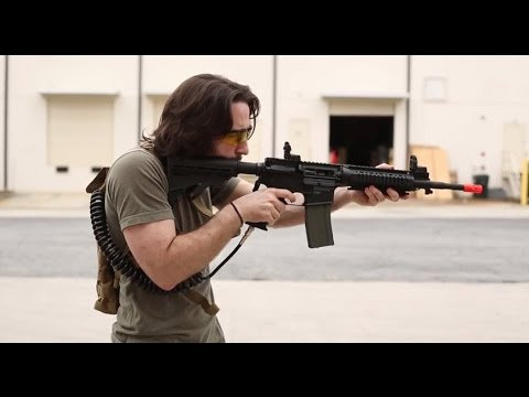 Tippmann M4 HPA / CO2 Airsoft Test des armes à feu