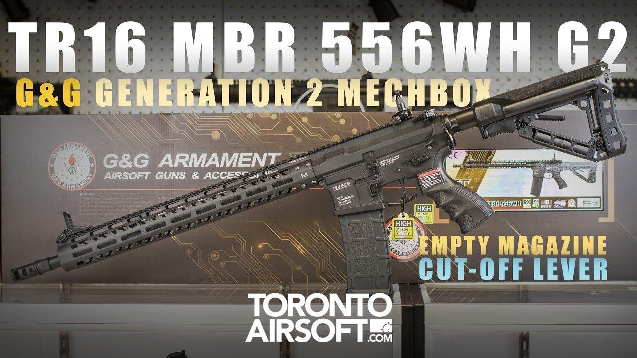 MEILLEURE CARABINE AIRSOFT JAMAIS? G & G TR16 MBR 556WH G2 – TorontoAirsoft.com