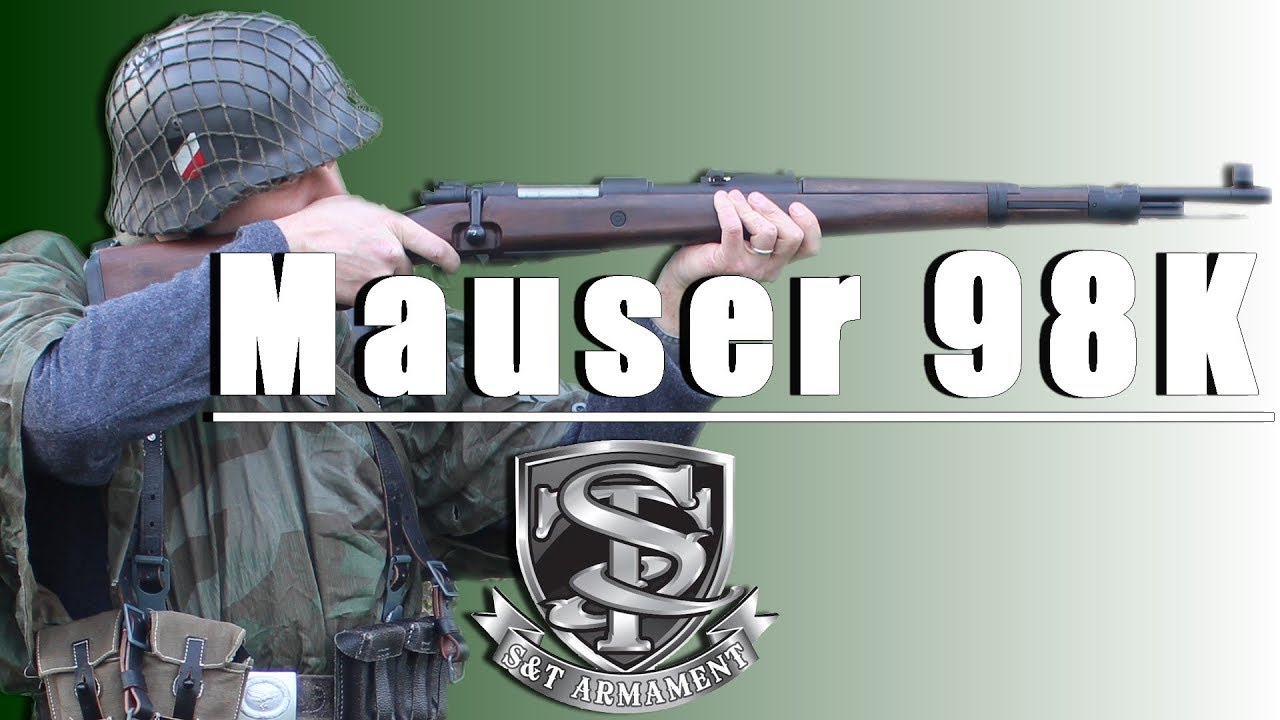 Mauser 98k S&T Spring – REVIEW AIRSOFT