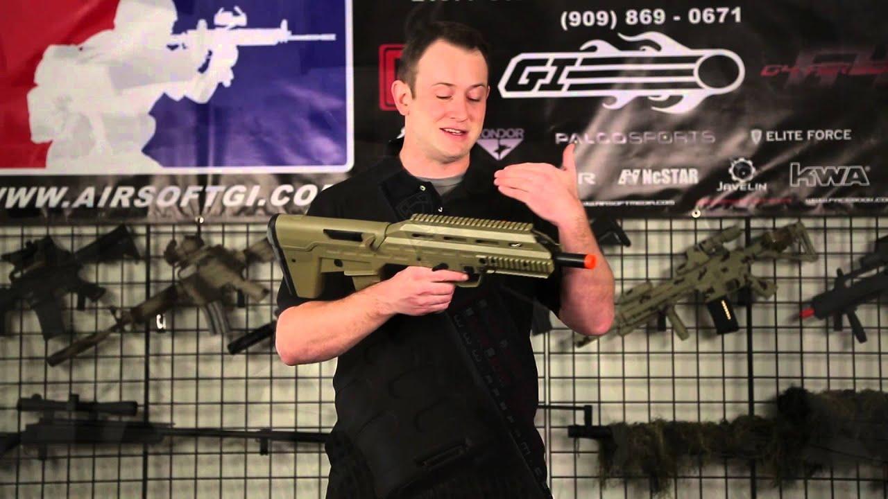 Airsoft GI – Examen de l'arme à feu à fusil APS Urban Assualt