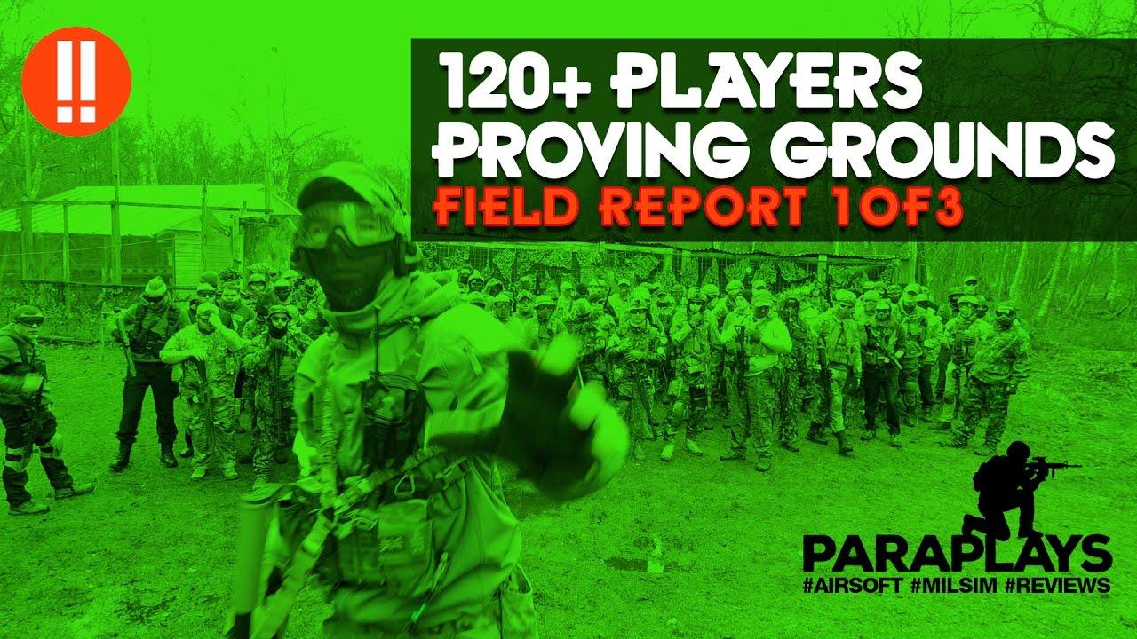 120 joueurs Airsoft Match ► Terres d'essai 13/03/17